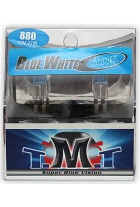 T.M.T Set Ampul H27/2 12V 5000K Beyaz Işık
