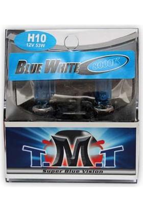 T.M.T Set Ampul H10 12V 5000K Beyaz Işık