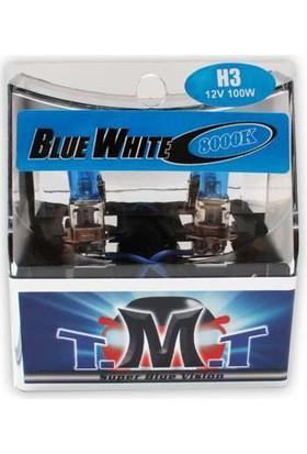 T.M.T Set Ampul H3 12V 5000K Beyaz Işık