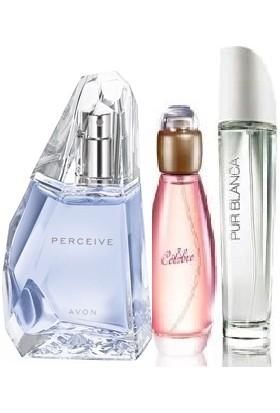 Avon Perceive Celebre Pur Blanca Parfüm Seti