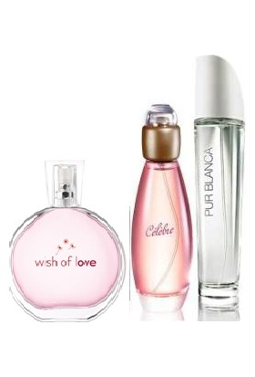 Avon Wish Of Love Celebre Pur Blanca Parfüm Seti 50 Ml