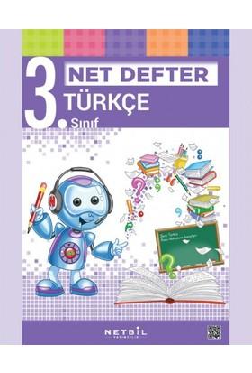 Netbil Yayınları 3. Sınıf Türkçe Net Defter