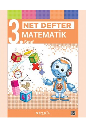 Netbil Yayınları 3. Sınıf Matematik Net Defter