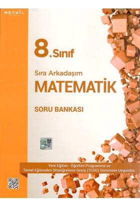 Netbil Yayınları 8.Sınıf Sıra Arkadaşım Matematik Soru Bankası