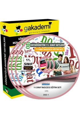 11.Sınıf İngilizce Görüntülü Eğitim Seti 12 Dvd