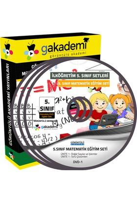 İlköğretim 5. Sınıf Matematik Görüntülü Eğitim Seti 6 Dvd