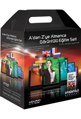A'Dan Z'Ye Almanca Görüntülü Eğitim Seti Türkçe Anlatım 25 Dvd