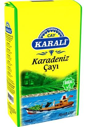 Karali Karadeniz Bergamot Aromalı Çay 1 kg