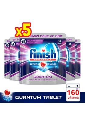 Finish Powerball Quantum Bulaşık Makinesi Deterjanı 32 x 5 (160 Tablet)