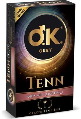 Okey Tenn Meyve Kokteyli 8'li Prezervatif