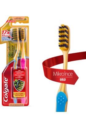 Colgate Diş Fırçası Mikro İnce Gold 1+1 Yumuşak