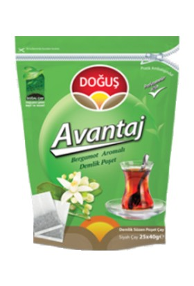 Doğuş Profesyonel Avantaj Bergamot Aroma Demlik Poşet Çay 40 gr 25 Adet