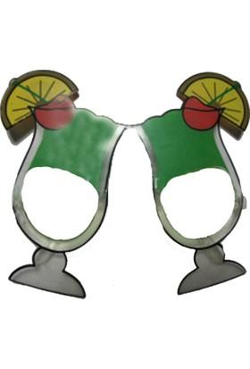 Pandoli Yeşil Cocktail Parti Gözlüğü