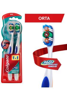 Colgate Diş Fırçası 360° Orta 1+1