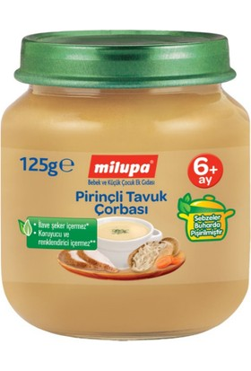 Milupa Pirinçli Tavuk Çorbası 125 gr