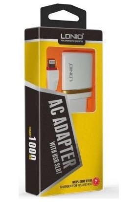 LDNIO DL-AC50 1000 Mah Usb İos Şarj Adaptörü