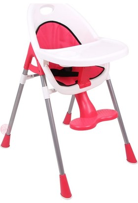 Ninikids Pratik Mama Sandalyesi - Nar Çiçeği