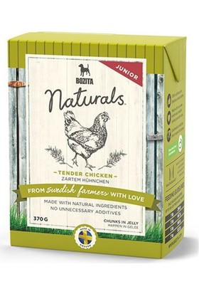 Bozita Naturals Tavuklu Tahılsız Konserve Yavru Köpek Maması 370 gr