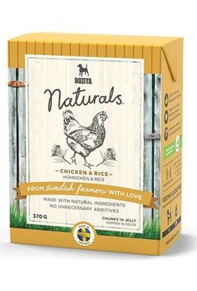 Bozita Naturals Tavuklu Ve Pirinçli Tahılsız Konserve Köpek Maması 370 gr