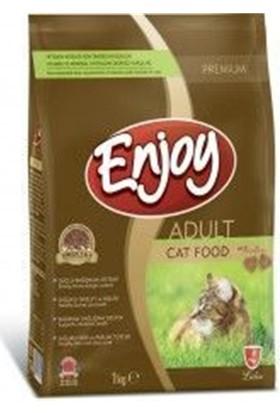 Enjoy Tavuklu Yetişkin Kedi Maması 1 Kg