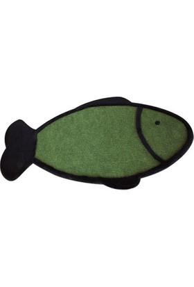Agira Balık Şeklinde Kedi Tırmalama Paspası 40x65 cm