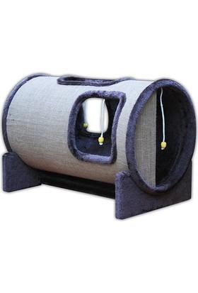 Agira Kedi Tırmalama ve Oyun Tüneli 58x40h cm