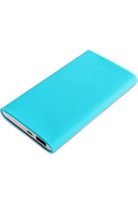 Xiaomi 10000 mAh (Versiyon 2) Taşınabilir Şarj Cihazı Silikon Kılıf Mavi