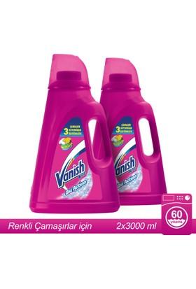 Vanish Kosla Sıvı Leke Çıkarıcı 2'li Set / 3000 x 2 Renkliler için