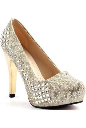 Lady Rachel Topuk Abiye Gelin Bayan Ayakkabı