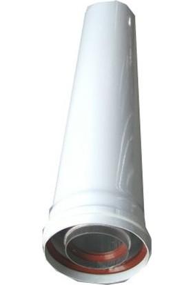 Gümüş Hermetik Baca Uzatması 25 cm