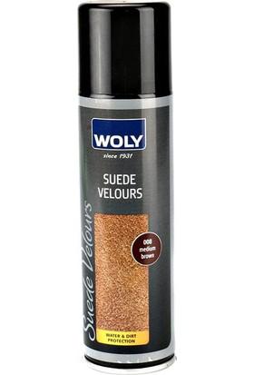 Woly 250 Ml Suet & Nubuk Kahverengi Ayakkabı Boyası Bakım Ürünü