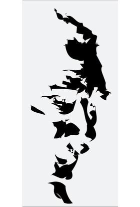 ModaCar Atatürk Siluet Siyah Sticker 06a070