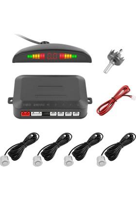ModaCar Gri Sensörlü Araç Park Sensörü 422284
