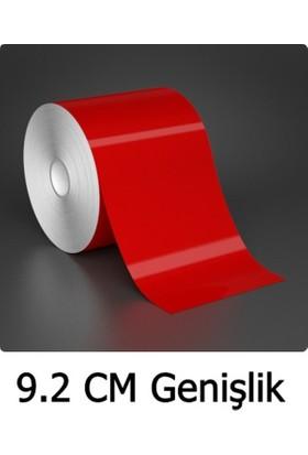 ModaCar 9 Cm Genişlik Kırmızı Fosfor Şerit 5 Mt 540016
