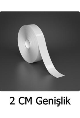 ModaCar 2 Cm Genişlik Beyaz Fosfor Şerit 25 Mt 840107