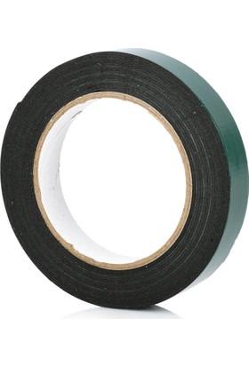 HomeCare Siyah Köpük Çift Taraflı Bant 1,5 cm x 10 Mt cm2=1 kg