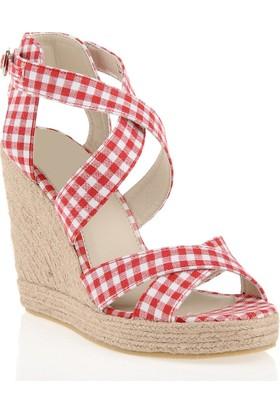 Pedro Camino Weekend Kadın Günlük Ayakkabı 22347 Kırmızı