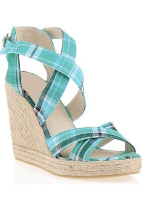 Pedro Camino Weekend Kadın Günlük Ayakkabı 22347 Yeşil