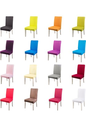 Masho Trend Sandalye Örtüsü Likralı Yıkanabilir Sandalye Kılıfı