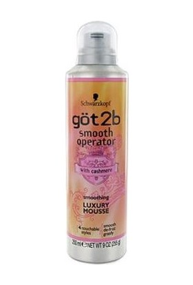 Got2B Smooth Operator Smoothing Luxury Mousse Saç Köpüğü 306 Gr