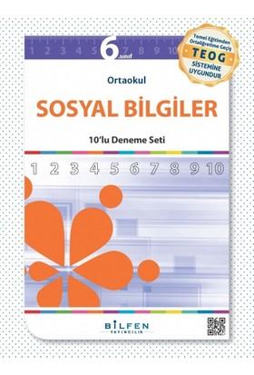 Bilfen Yayınları 6. Sınıf Sosyal Bilgiler 10'Lu Deneme Seti