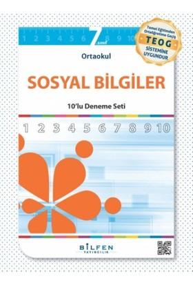 Bilfen Yayınları 7. Sınıf Sosyal Bilgiler 10'Lu Deneme Seti