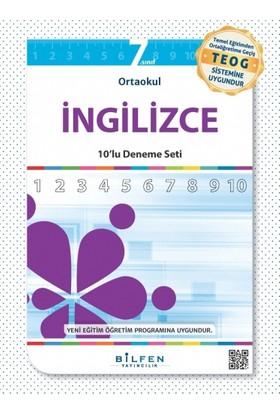 Bilfen Yayınları 7. Sınıf İngilizce 10'Lu Deneme Seti