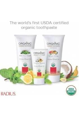 Radius Organik Diş Macunu 3'lü Aile Seti, USDA Sertifikalı Radius