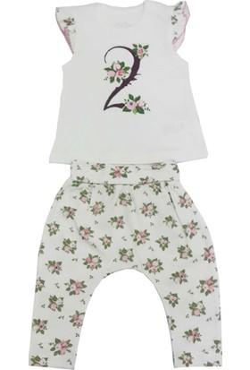 For My Baby Güllü Kız Bebek Takımı