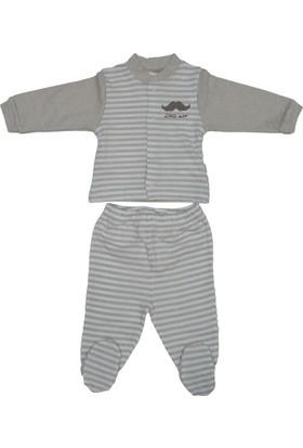 Bebetto F852 Little Man Penye Mini Bebek Pijama Takımı