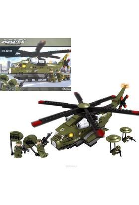 Ausini Lego Army Helikopter Asker 452 Parça No.22606
