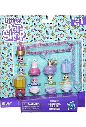 ad9e836eac2d0 Hasbro Littlest Pet Shop Miniş Oyun Seti Chic Charms
