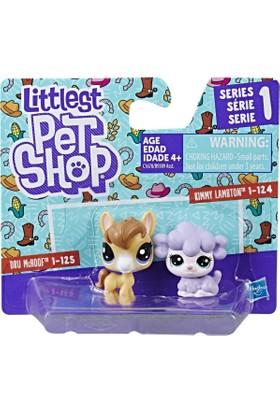 Hasbro Littlest Pet Shop İkili Minişler Dru Mchoof & Kimmy Lambton