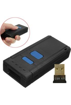 Ptbarkod Wireless ve Bluetoothe Mini Kablosuz Barkod Okuyucu (Hafızalı)